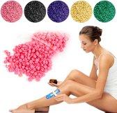 Hard Wax Beans 100gr Roze / Hars Korrels voor harsen / Waxing Beans / Hars Wax Bonen