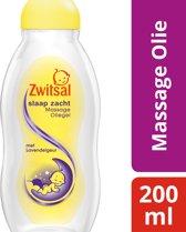 Zwitsal Slaap Zacht Massage Olie Lavendel - 200 ml - Baby