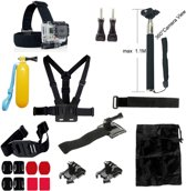 20 in 1 Outdoor Accessories Kit voor GoPro Hero 4/3+/3 en Actioncam