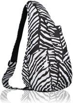 HEALTHY BACK BAG Rugzak - Zebra - Small - 6163-BW