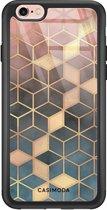 iPhone 6/6s glazen hardcase - Cubes art