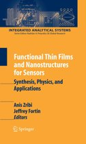 Functional Thin Films and Nanostructures for Sensors