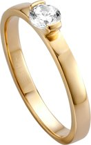 Esprit ESRG005317 Bright  - ring - Zilver geelgoudverguld - Goudkleurig