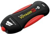 Corsair Flash Voyager GT 256GB USB 3.0 Zwart, Rood USB flash drive