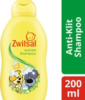 Zwitsal Woezel & Pip Anti-Klit Babyshampoo - Zeepvrij - 200 ml