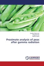 Proximate Analysis of Peas After Gamma Radiation
