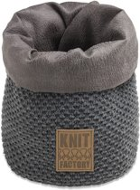 Knit Factory Lynn Mand Klein Antraciet
