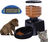 Automatische Pet Feeder met Digital LCD Display Timer en Voice Record 5.5L Pet Feeder Dispenser