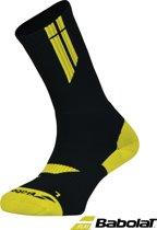 Babolat sokken TEAM - zwart/geel - maat 39/42