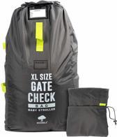 Extra grote gate check reistas voor buggy/ wandelwagens, kinderwagens, autostoelen, zitverhogers, rolstoelen -  duurzaam en waterdicht - gemakkelijk te dragen en te herkennen op de bagageband in de luchthaven