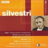 Silvestri Conducts Elgar, Arnold, Tchaikovsky, Debussy, Enescu
