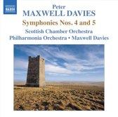 Maxwell Davies: Symphonies 4+5