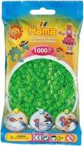 Strijkkralen 1000 Stuks Groen Fluor