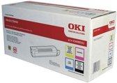 OKI C8600, C8800 toner zwart en drie kleuren standard capacity 6.000 pagina s 4-pack