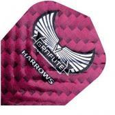 Harrows darts Flight 7009 graflite roze 3 stuks
