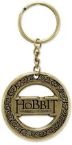 The Hobbit: Metalen Sleutelhanger Logo in Ring