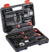 Red Cycling Products Home Toolbox Gereedschap 22 tlg. zwart
