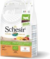 Schesir Cat Dry Bio Sterilized - Kattenvoer - Kip 400 g