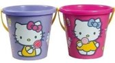 Hello kitty Emmer 17 cm paars