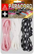 Paracord Set - Special Collection (Lichtroze / Wit / Zwart-Wit)