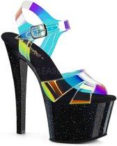 SKY-309CRS (EU 38 = US 8) 7 Heel, 2 3/4 PF Ankle Strap Sandal