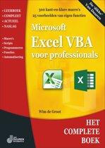 Het complete boek Excel VBA voor professionals