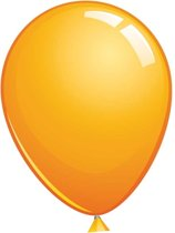Topballon oranje (Ø91cm, 6st)