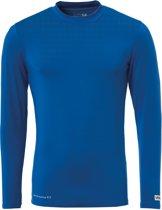 Uhlsport Distinction Colors Baselayer  Sportshirt performance - Maat L  - Mannen - blauw