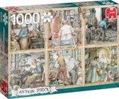 Anton Pieck Craftmanship Premium Collection Puzzel 1000 Stukjes