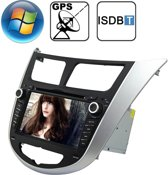 Rungrace 7.0 inch Windows CE 6.0 TFT-scherm In-Dash Car DVD-speler voor Hyundai Verna met Bluetooth / GPS / RDS / ISDB-T