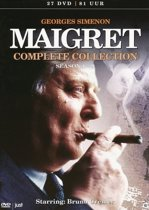 DVD cover van Maigret - Complete Collection (Seizoen 1 t/m 9) (Import)