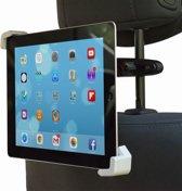 Shop4 - iPad 3 en 4 Retina Autohouder Hoofdsteun Tablet Houder Klem Zwart
