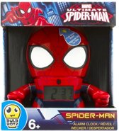 Marvel Spiderman wekker met licht
