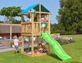 Houten Speeltoren voor de Kleine Tuin - Jungle Hut