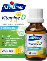 Davitamon vitamine D olie suikervrij - kinderen - 25ml