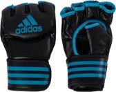 adidas Traditional Grappling Handschoenen Zwart/Blauw Medium