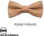 Vlinderdas van kurk, Rolha Natural