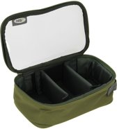NGT 3 Vaks Deluxe Clear Lead Bag Loodtas - 18 x 12,5 x 8 cm - Groen