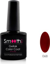 Smooth Nails – Passionate – Gellak – Rood