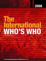 The International Who's Who 2008