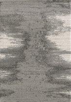 Vloerkleed Luna Grijs Laagpolig Tapijt -  120x170 cm
