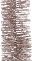 Kerstboom folie slinger roze 270 cm - kerstslingers