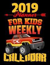 2019 Planner for Kids Weekly Calendar