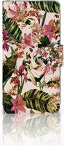 LG G6 Uniek Boekhoesje Flowers