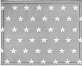 Jollein Little star Boxdek 75x95cm dark grey