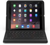 ZAGG iPad Air & Air 2 Bluetooth Messenger Folio Keyboard Case QWERTY Black