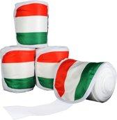 Polarfleecebandages -Flags- Set van 4 Vlag Hongarije 300 cm