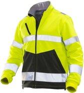 1241 Fleece Jacket HV Yellow/Black 3xl