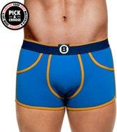 Bolas Boxershort Solids Moody Blauw - Heren