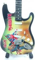 Miniatuur gitaar Iron Maiden - Trooper